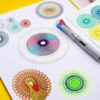 27pcs Kaleidoscope Set Spirograph Design Set Drawing Kids Art Craft Create Toys