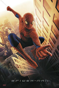 "Spider-Man - Movie Poster / Print (Swinging Through New York) (Size: 27"" X 40"")"