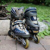Men's K2 EXO 6.0 Mens 11 Inline Skates Rollerblade 80mm Wheels Power Transfer