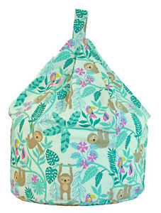 Large Green Sloth Jungle Bean Bag With Beans By Bean Lazy