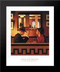 Man in the Mirror 20x24 Black Wood Framed Art Print by Jack Vettriano