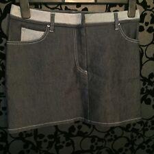Ted Baker jean Vintage Denim Style 90s Skirt Size 3