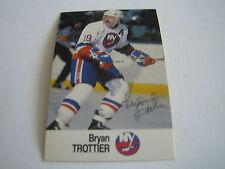 1988/89 ESSO NHL ALL-STAR COLLECTION BRAD TROTTIER CARD***NEW YORK ISLANDERS***