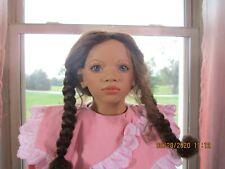 "Annette Himstedt Doll - Lona - - Images Of Childhood 28"", Coa & Box"