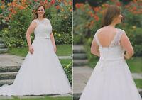 Brautkleid Hochzeitskleid Kleid mollige schwangere Braut Babycat collection K09