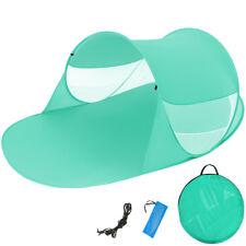 Tenda popup da spiaggia protezione UV sole mare campeggio parasole 245x145x95cm