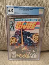 G. I. Joe #3, CGC 6.0, 1982, Marvel Comics, White Pages