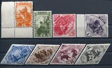 TANNU TUVA YR 1934,SC 45-52,MNH,DIFFERENT TUVA SCENES