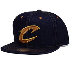 NBA Mitchell & Ness Selvage Denim Snapback Hat (Cleveland Cavaliers)