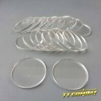 TTCombat - Round Clear Bases (20 x 30mm)