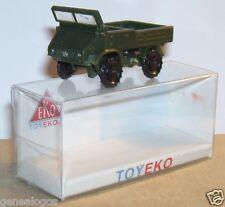 MICRO TOY EKO TOYEKO HO 1/86 1/87 ESPAÑA MERCEDES UNIMOG MILITAR REF 4005 BOX