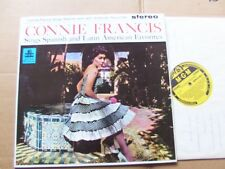 CONNIE FRANCIS,SINGS SPANISH AND LATIN-AMERICAN FAVORITES lp m-/vg+ 1.Print UK