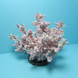 Dollhouse Miniature Outdoor Pink Weigela Landscape Bush Shrub CAWEIG