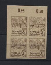 Lokal Cottbus 2 U (4) postfrischer Viererblock (B05837)