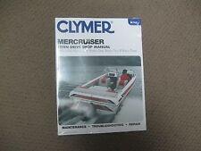 Clymer Manual, MerCruiser, Alpha One, Bravo, One,Two,Three, Stern Drive 1986-94