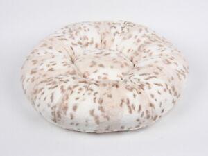 Susan Lanci Designs Pet Bed - Snow Leopard