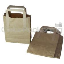 "50 petits papier kraft brun transporteur SOS sacs 7x3.5 x8.5 """