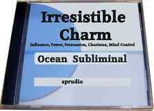 Subliminal CD Charm - Personal Magnetism, Persuasion, Charisma Self Help Ocean