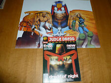 JUDGE DREDD THE MEGAZINE - Series 3 - No 14 - Date 02/1996 - Inc POSTER
