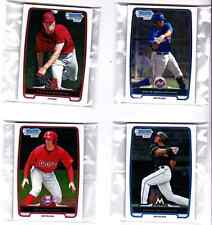 LOT OF (5) 2013 BOWMAN CHROME PROSPECTS #BCP175 TAYLOR SIEMENS RC-STORE