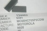 MOTOROLA MC68HC705P9CDW 28-Pin Plastic SMD 8-Bit CPU Eprom New Lot Qty-2