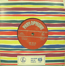 "BEATLES ""LOVE ME DO""  7' reissue unplayed"