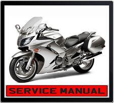 YAMAHA FJR1300A 2006 ONWARD BIKE REPAIR SERVICE MANUAL IN DVD