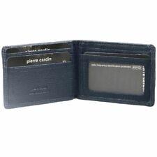 Pierre Cardin Mens RFID Bifold Italian Leather Wallet - Black