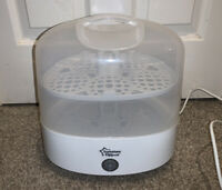Tommee Tippee Electric Steam Baby Feeding Bottle Steriliser - White