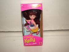 DOLL FIGURE FRIEND OF KELLY SISTER OF BARBIE DOLL CHELSIE BROWN HAIR 1995 MATTEL