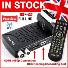 FULL HD Freeview WiFi Receiver & HD RECORDER DIGITAL TV Set Top Digi Box Tuner