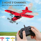 3Color RC Plane FX-803 2.4GHz 2 Channel Remote Control Airplane for Beginner Kid