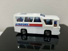 Vintage Majorette #262 Minibus TWA Trans World Airlines Made In France