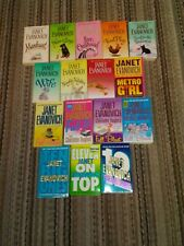 JANET EVANOVICH lot of 16 paperbacks