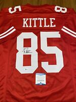 George Kittle Autographed Signed San Francisco 49ers Custom Jersey Beckett COA 4