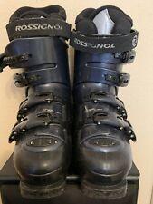 Womens Rossignol Saphir GX Ski Boots Size 26.5 // Blue