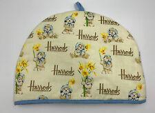 Tea Pot Cosy / Cozy HARRODS Knightsbridge Teddy Bear & Daffodils CUTE!