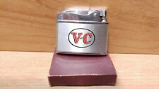 "Vintage Wellington Balboa Lighter ~ ""T-C"" ~ unused in original box ~ Japan"
