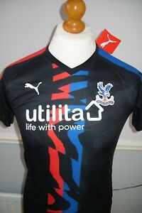 Crystal Palace regular fit away shirt age 13-14 new with tags