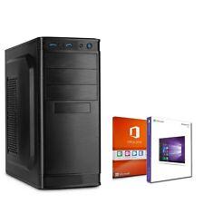 ♛ Oficina PC bürocomputer CALCULADOR Intel Windows 10 USB HMDI 250gb OFFICE 2016