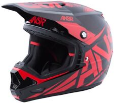 New Answer ANSR Racing Evolve 3 MX Helmet Red Black Adult Medium ATV