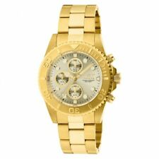 Invicta Men's Pro Diver Chronograph Gold Plated Stainless Steel Watch 1774
