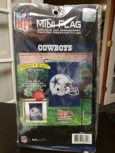 "Dallas Cowboys Mini Flag 15"" X 10.5"""