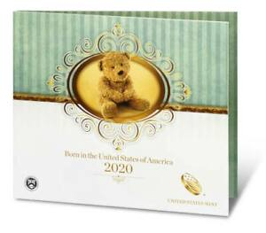 2020 S US MINT BIRTH SET (20RD) BIRTHDAY GIFT 5 COIN PROOF SET Official Issue