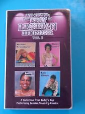 STAND UP COMEDY: Hilarith : The Best of Lesbian Humor (1999, 4 Cassette Tapes)