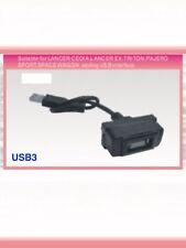 USB PORT presa compatibile con MITSUBISHI LANCER PAJERO L200 TRITON non crea USB