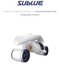 Brand new Sublue Whiteshark Mix Underwater Scooter