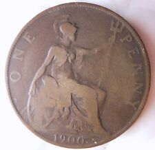 1900 GREAT BRITAIN PENNY - Great Collectible - FREE SHIP - Britain 6.99 BIN