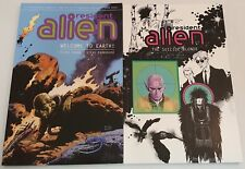 Set of 2 Dark Horse Softcovers ~Resident Alien~ Vol. 1 & 2 ~Hogan~Parkhouse~