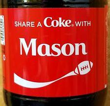 Fall 2019 Share A Coke With Mason 20 oz Coca Cola Collectible Bottle